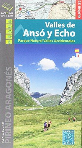Valles de Ansó y Echo 1:25.000 (EDITORIAL ALPINA)