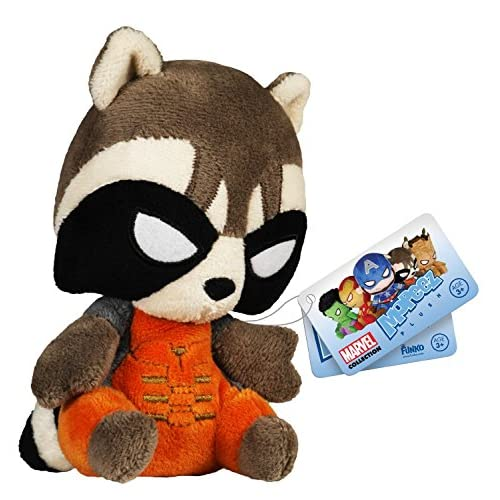 Funko - Peluche Marvel Guardian of The Galaxy - Rocket Mopeez 10Cm - 0849803055844