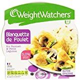 Weight Watchers Blanquette Poulet Riz 300 g - Lot de 4
