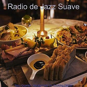 Jazz Quartet - Background for Cooking Dinner