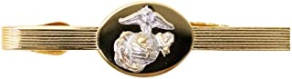 Vanguard MARINE CORPS TIE CLASP: OFFICER - 24K GOLD PLATED