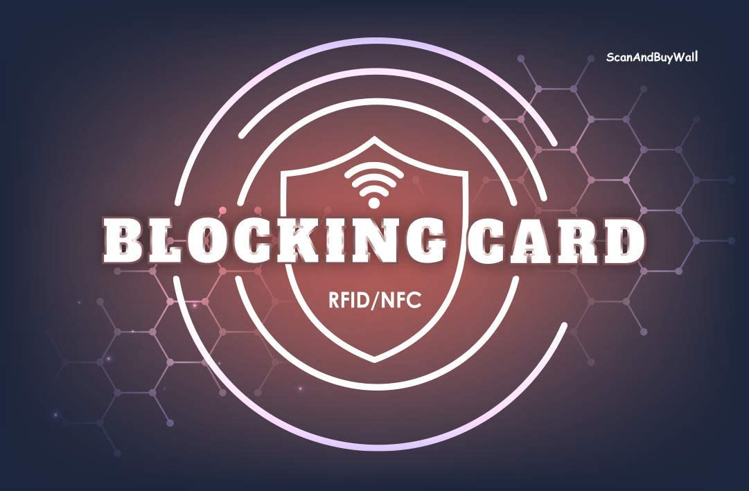 ScanAndBuyWall - 4 Award-winning store RFID Save money NFC Cards Contactless Blocking Car