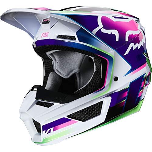 Fox Racing Gama Youth V1 Off-Road Motorcycle Helmet - Multi/Small