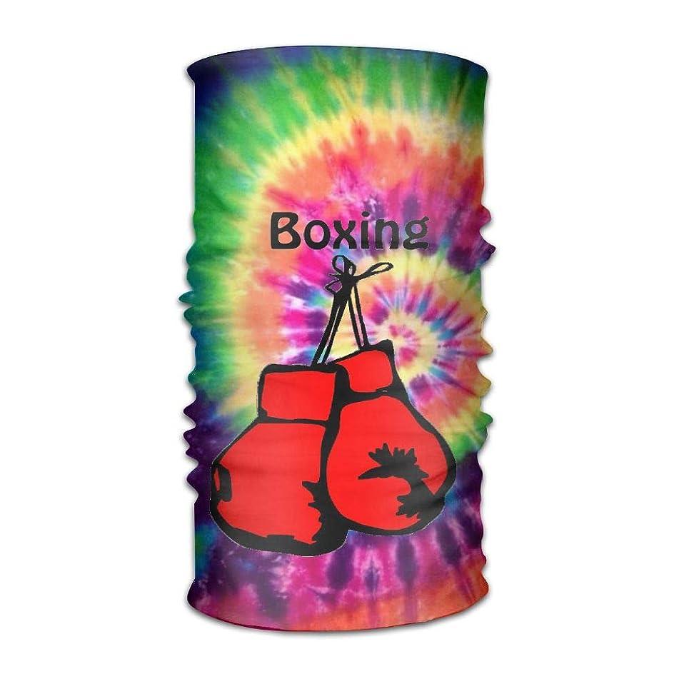 IRON1974 Boxing Gloves Unisex Sport Scarf Headbands Bandana Outdoor Sweatband Headwear