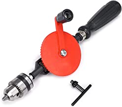 Skelang Hand Drill 3/8-Inch Capacity Powerful and Speedy Manual Hand Drill With Finely..