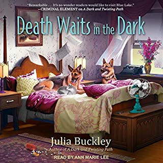 Death Waits in the Dark     A Writer's Apprentice Mystery, Book 4              By:                                                                                                                                 Julia Buckley                               Narrated by:                                                                                                                                 Ann Marie Lee                      Length: 8 hrs and 10 mins     18 ratings     Overall 4.5