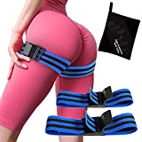 [Glute Bands] Blood Flow Restriction Bands for Women Glutes BFR Bands,Butt Workout Equipment for Women,Resistance Bands for Exercising Your Butt (Blue)