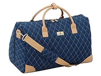 LONDON FOG Queensbury 20-Inch Large Satchel Bag Navy 16