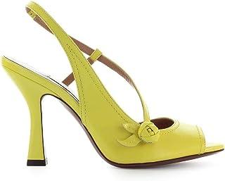 Luxury Fashion | L'autre Chose Women OSJ25495CP27805046 Yellow Leather Sandals | Autumn-winter 19