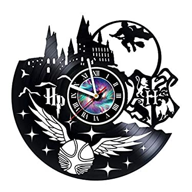 Severus Snape Harry Potter Design Vinyl Record Wall Clock Unique gifts for him her Gift Ideas for Mothers Day Father birthday anniversary wedding cute and original - Leave a feedback and win a clock