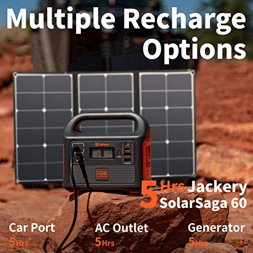 51hf8rPjSQL - Jackery Portable Power Station Explorer 160, 167Wh Lithium Battery Solar Generator (Solar Panel Optional) Backup Power Supply with 110V/100W(Peak 150W) AC Outlet for Outdoors Camping Fishing Emergency