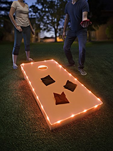 10 best cornhole lights for hole and board orange for 2020