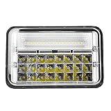 Andride 42 LEDs Headlight for Hero Splendor Plus, Splendor Pro White