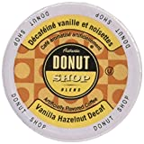 Authentic Donut Shop Blend Decaf Vanilla Hazelnut Single Serve Cups for Keurig K Cup Brewers, 24 Count