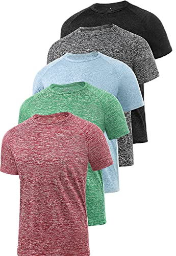 Xelky 4-5 Pack Men's Dry Fit T S...