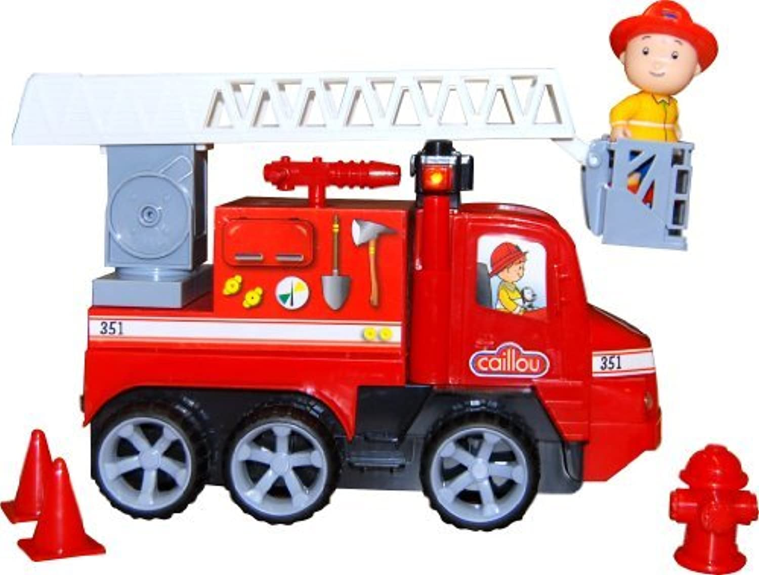 Caillou Lights and Sounds Firetruck by Caillou