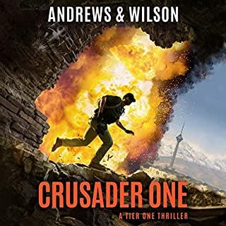 Crusader One audiobook cover art