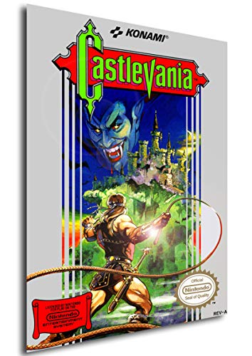 Instabuy Posters retrogame - Castlevania Cover - Size (42x30 cm)