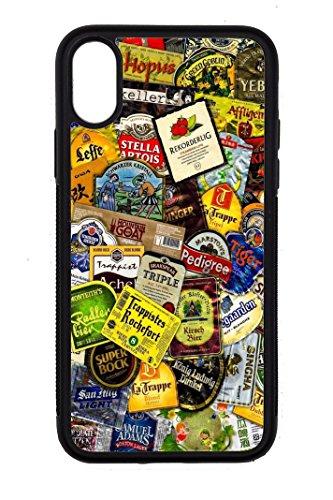 Bkstuff Hülle TPU Bier Etiketten Stickerbomb für verschiedene Modelle