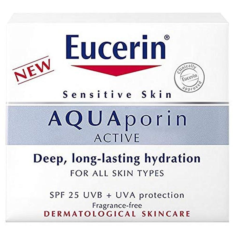 理想的分析冷酷な[Eucerin] Eucerin?のアクアポリンアクティブハイドレーションSpf 25 Uvb / UvaのProtの50ミリリットル - Eucerin? Aquaporin Active Hydration SPF 25 UVB/UVA Prot 50ml [並行輸入品]