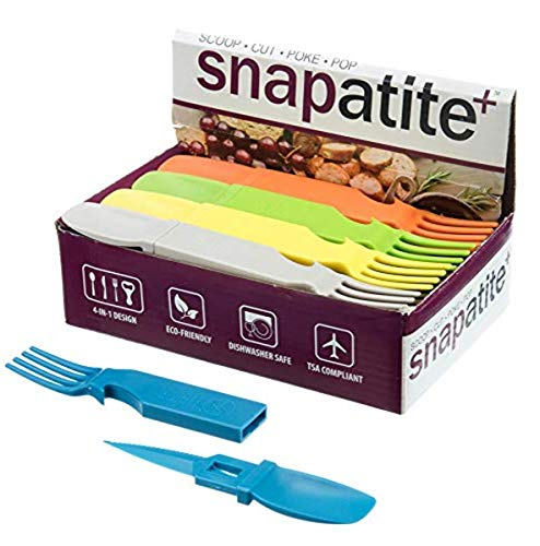 SE Snapatite - Utensilios 4 en 1 (24 piezas) - OD-FS7-625AB