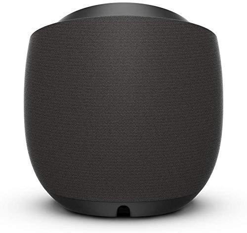 Belkin - SoundForm Elite Altavoz Inteligente Hi-Fi y Cargador inalámbrico (Altavoz Bluetooth con Control de Voz, Altavoz para Amazon Alexa, tecnología acústica de Devialet, para AirPlay2), Negro