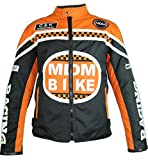 MDM Textil Motorradjacke (S, Orange)