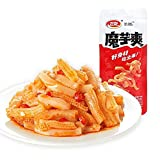 20Pcs Weilong Latiao, Spicy Strip Konjac Snacks, Chinese Special Food, Amazingly Satisfying Snack, Low Calorie, Essential for Weight Loss, for Vegetarians and People on Keto Diet