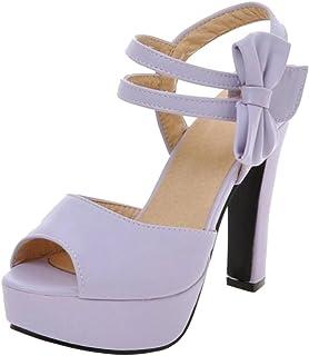 RizaBina Women Peep Toe Sandals Shoes