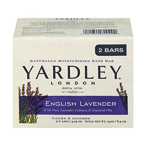 English Lavender Bar Soap by Yardley - 2 x 4.25 oz Soap (SG_B005PV03Z6_US)