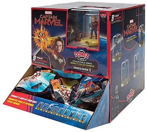Figura coleccionable de Minis compatible con Funko, Capitán Marvel, 1 unidad, figura coleccionable, Infinity War, juguete, Goose the Cat, Talos, Ronin, Nick Fury, Vers, Yon-Rogg