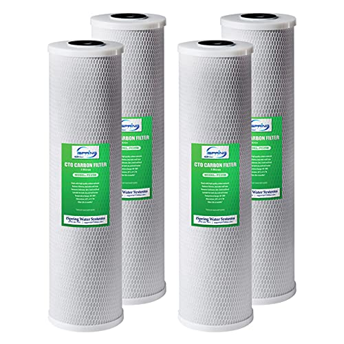 """iSpring FC25BX4 High Capacity 4.5"""" x 20"""" Whole ..."""