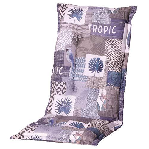 Tropic blau Auflage hoch 50% BW 50% Polyester