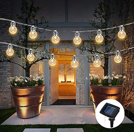 Guirlande lumineuse à 10 LED pour éclairage extérieur