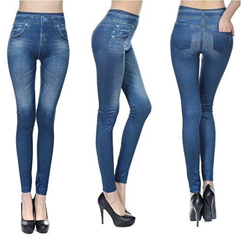 360 Jeggings l'Abbigliamento più Elegante, Confortevole e Sexy Che è Stato mai Fatto per ridurre la Tua Figura. Formato L/XL. Pack 4 unità / 4 Diversi Modelli