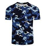 Camisetas Estampadas En Tinta 3D para Hombres, Camisetas Casuales De Manga Corta, Camisetas De Manga Corta, Ropa Informal. Camiseta Talla AsiáTica XXS