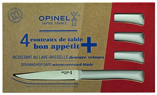 Opinel Tafelmesser-Set Bon Appetit+, hellgrau, Blau, M