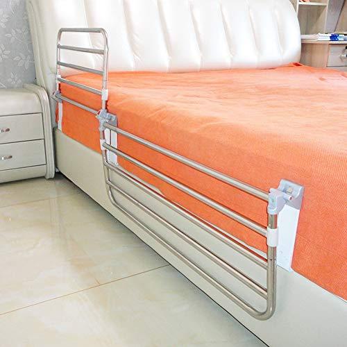 Bett Haltegriff, Sicherheit Edelstahl-Bettgitter, Stabilität Hilfe, for Senioren, Behinderte, Zusammenklappbaren Bett Haltegriff Schutzgeländer (Size : 60cm)