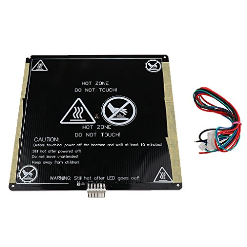 12v Mk3 220x220mm Placa de Aluminio PCB Heatbed Cama de Calor para Reprap Impresora 3d Accesorios