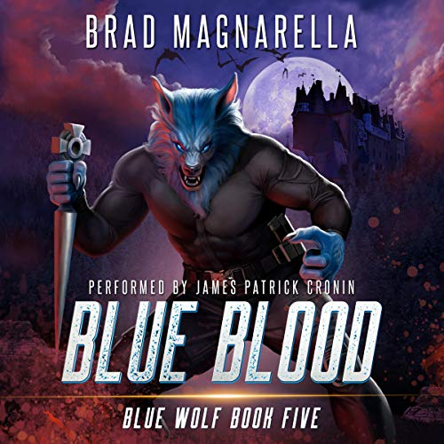 Blue Blood Audiobook By Brad Magnarella cover art