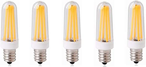 Led Bulbs, E14 Base  LED Light Bulbs,Filament COB Chandelier,4W (40W Halogen Equivalent), 350LM, 3000K/6000K, AC200-240V E...