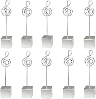 music note place card holder