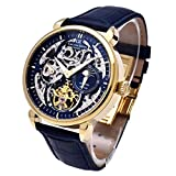 Carl von Zeyten(カール・フォン・ツォイテン) ドイツ製腕時計 自動巻き スケルトン メンズ CvZ0005GBL 【正規輸入品】