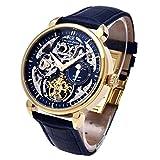 Carl von Zeyten(カール フォン ツォイテン) ドイツ製腕時計 自動巻き スケルトン メンズ CvZ0005GBL 【正規輸入品】