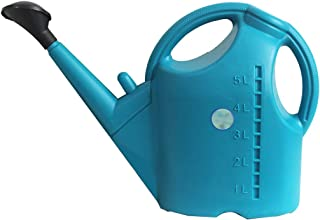 CUUYQ Watering Can Pot, Plastic Removable spout Sprinkling can for Indoor Outdoor Plants Gardening Tools High Capacity,Blue_10L