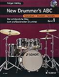 New Drummer's ABC: Der erfolgreiche Weg zum professionellen Drummer. Band 1. Schlagzeug. Lehrbuch mit mp3-CD. - Holger Hälbig