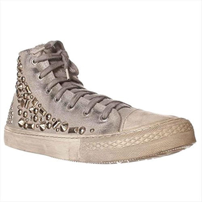 Studswar Cleo Women's Fashion Sneakers Silver Size 9.5 M