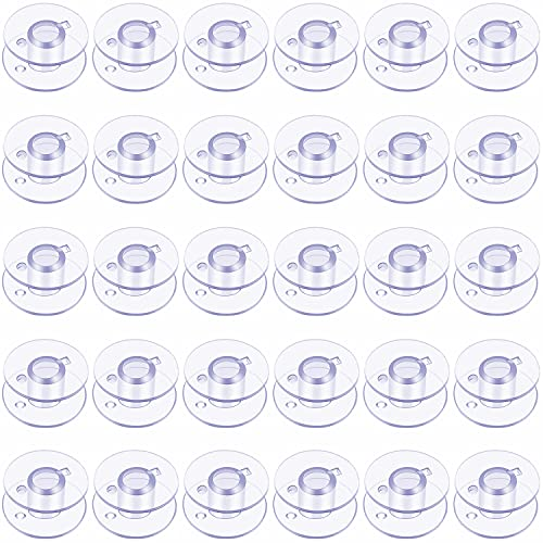 SIXQJZML Style SA156 Sewing Machine Bobbins for Brother - 30 Pack