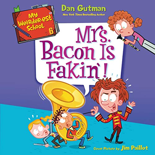 Mrs. Bacon Is Fakin'!  By  cover art