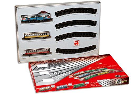 PEQUETREN PEQUETREN202Classic Colori passeggeri Metallic Modello Treno con Luce